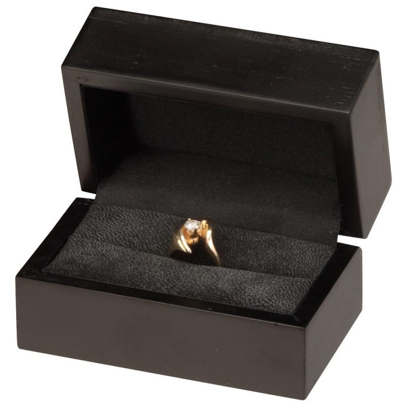 """Moderna"" Double Ring Slot Box"