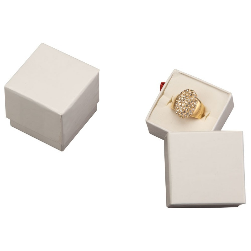 Economy Collection Square Ring Box