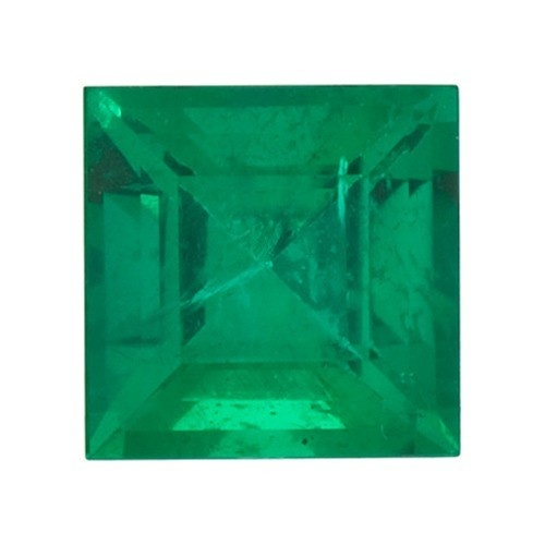 Square Synthetic Emerald