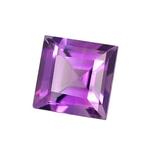 Square Synthetic Amethyst