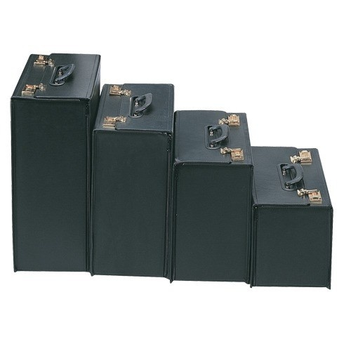 Hard Black Vinyl Carrying Cases