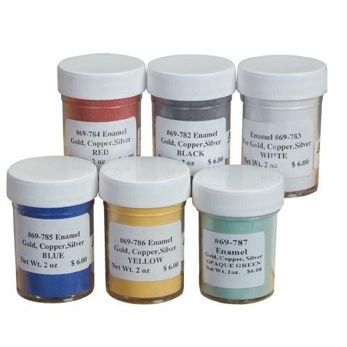 Enamel - Set Of All 6 Color