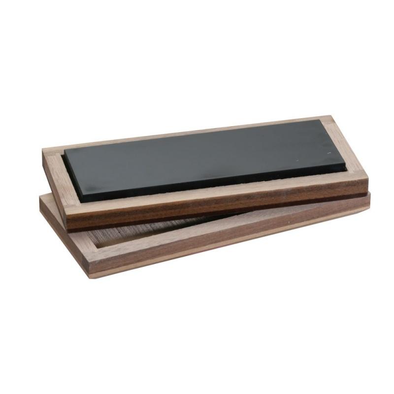 Gold Testing Stone In Wood Box