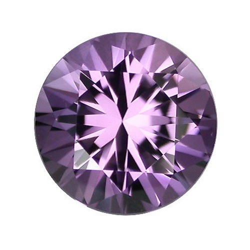 Synthetic Round Amethyst