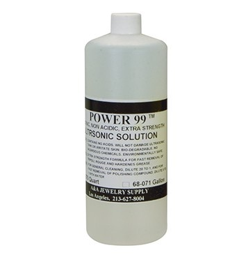Power 99 1-Quart Cleaning Concentrate For Ultrasonics Jewelry Cleaner