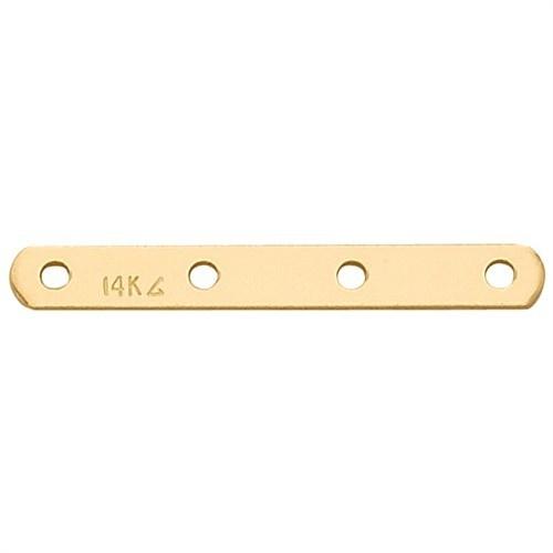 14K Yellow 4-Strand Pearl Divider