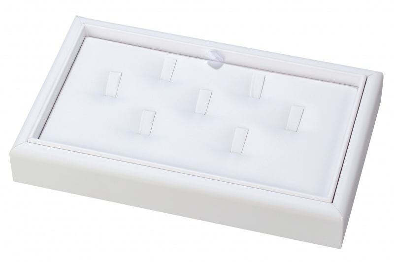 """7-Clip Stackable Ring Trays, 9"""" L X 5.5"""" w"""