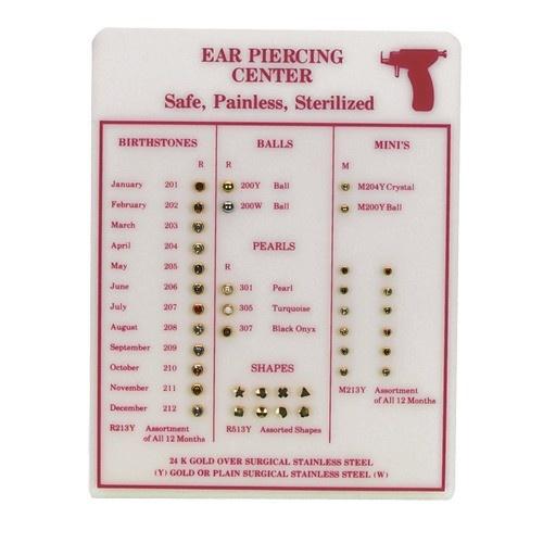 Ear Piercing Counter Display