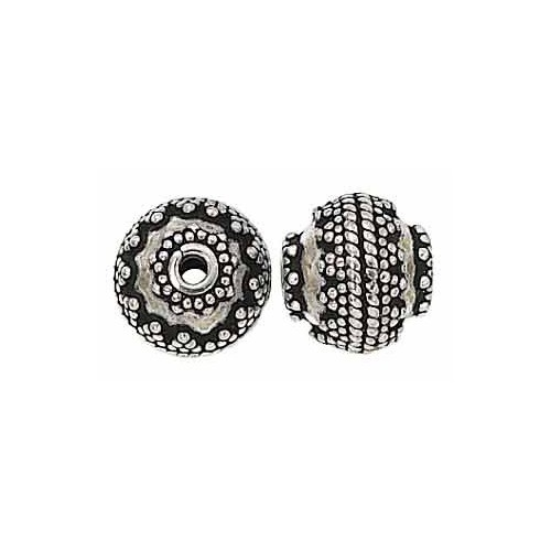 Sterling Silver Bali Bead - 10mm