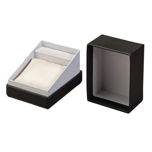 "Diplomat ""economy"" Watch Box In Onyx & Pearl"