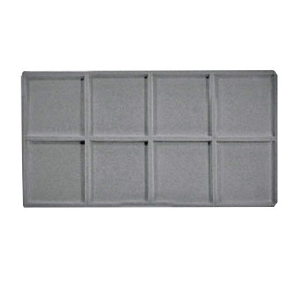 """8-Compartment Inserts For Full-Size Utility Trays, 14.13"""" L X 7.63"""" w"""
