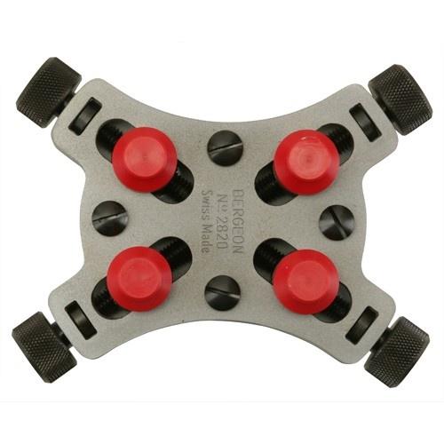 Bergeon Waterproof Watch Case Micro-Vises #2820