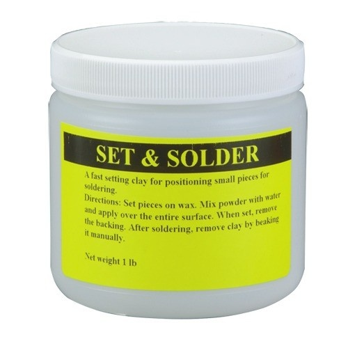 Set And Solder Soldering Clay