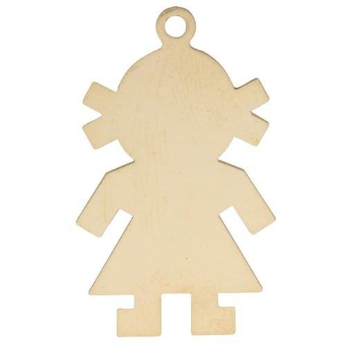 14k Yellow Boy Silhouette, Charm