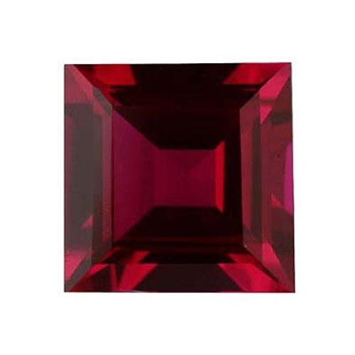 Square Synthetic Ruby