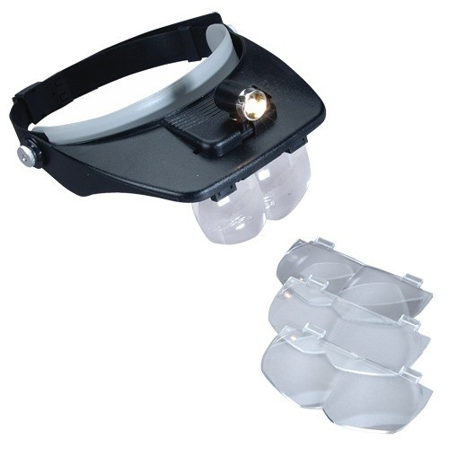 Visor With 3 Lens And Light