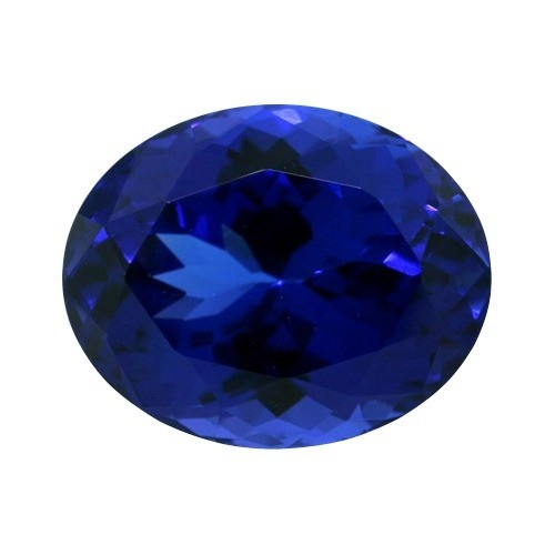 Oval Synthetic Tanzanite