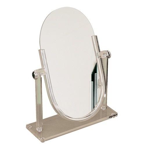 "Small Acrylic Countertop Mirrors, 12"" L X 18"" h"