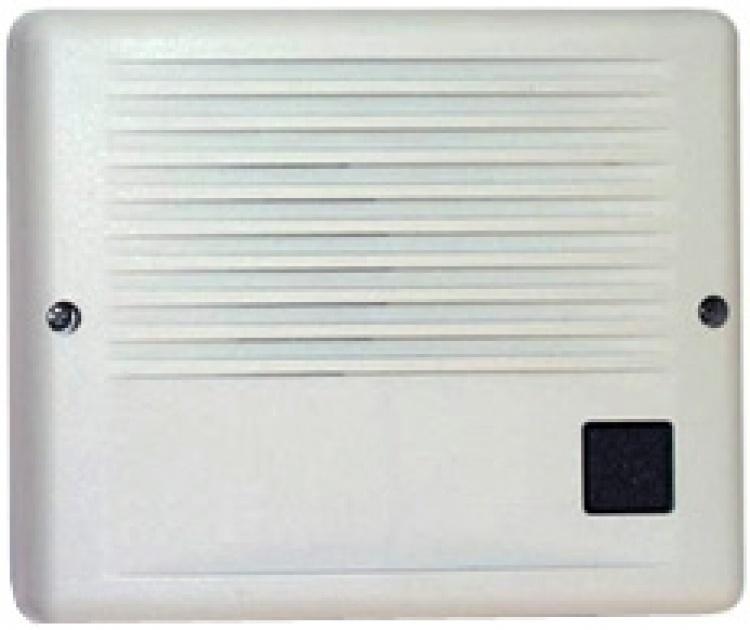Alphaentry Door Station-plast.. Light Grey Color - Surface Mt. Telephone Line Powered Separate Talk/listen Volume.