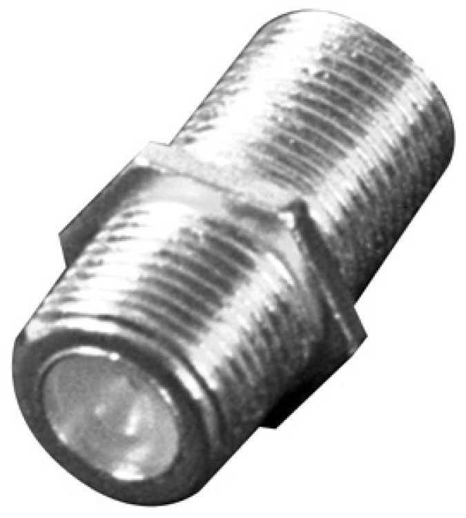 Female/female Connector---rg59. Female/female Type Connector For Use With Rg59/u Type Coaxial Cable Only.