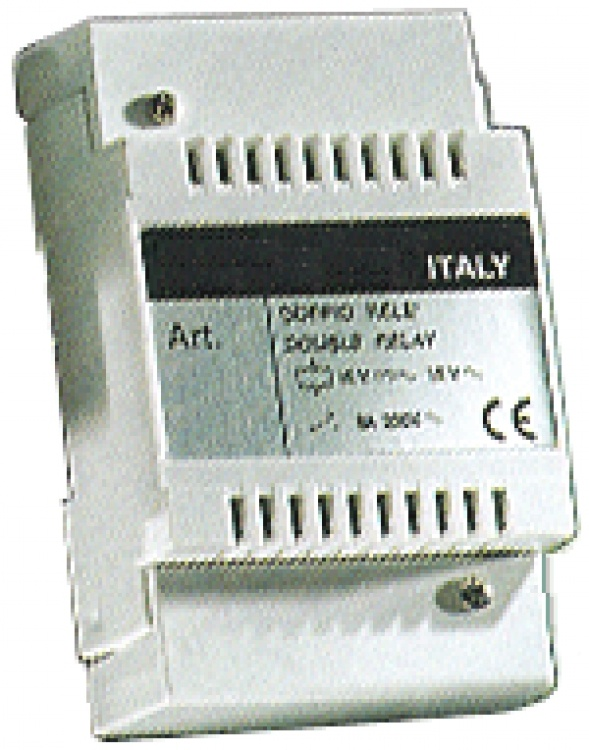 Auxil Relay Unit-form 'c' Type. Used With Elvox Video-intercom Systems To Provide Dry Contact Closures From The Apt. Unit(s).