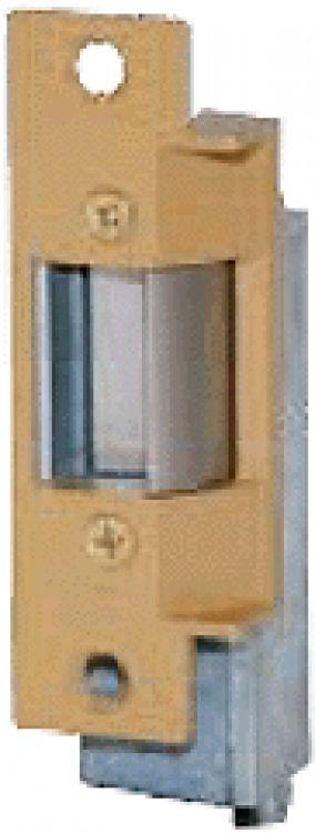 24vdc Fail Safe Door Strike-br. Operates On 24vdc Designed For 'fail-safe' Operation - Brass Finish.