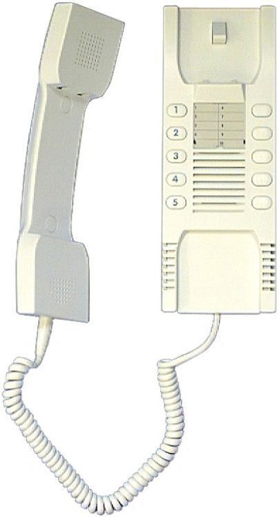 5 Call Wall Handset-buzz-white. Use With Nh208tvu Or Nh908a Power Supply. Requires #r2006 When Used With Nh208tvu.