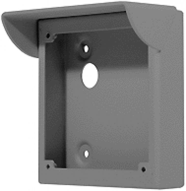 Surface Box+rainshield-graphit. For Villa Style Vandal- Resistant Panels (graphite Color).