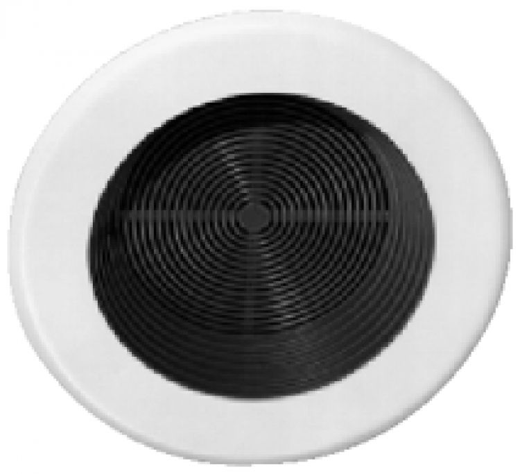 """Ceiling Speaker Grille + Ring. Has Flamex Type Speaker Grille And Mtg. Ring Included. Does Not Include 4"""" Or 5"""" Speaker."""