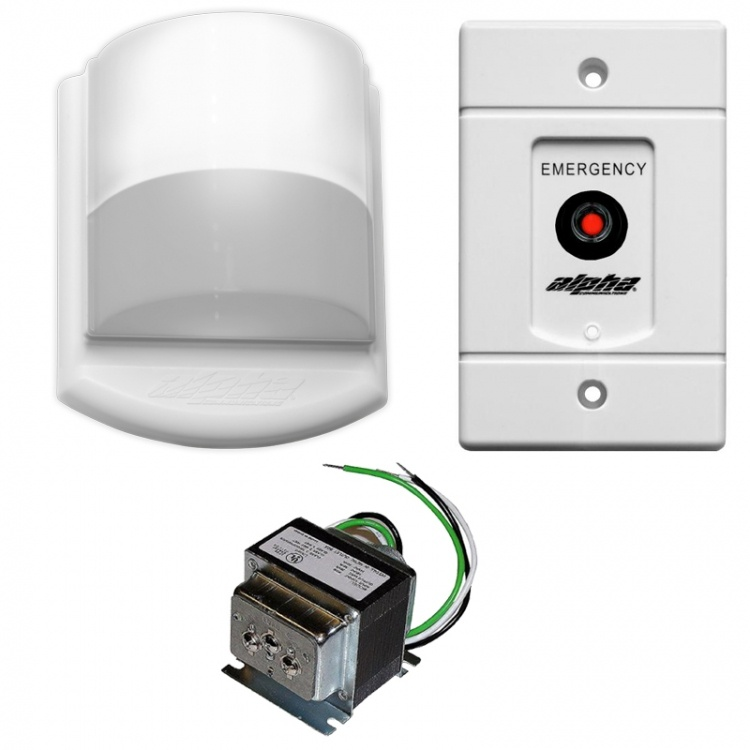 Emergency Call Kit-with Buzzer. Includes 1- Sf154a 1- Ss104 And 1-cdl123b Dome Light+buzzr (with A Buzzer)---(less Wire).