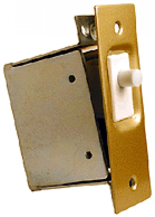 Door Contact Switch + Back Box. Contact Is Broken When Door Is Opened.