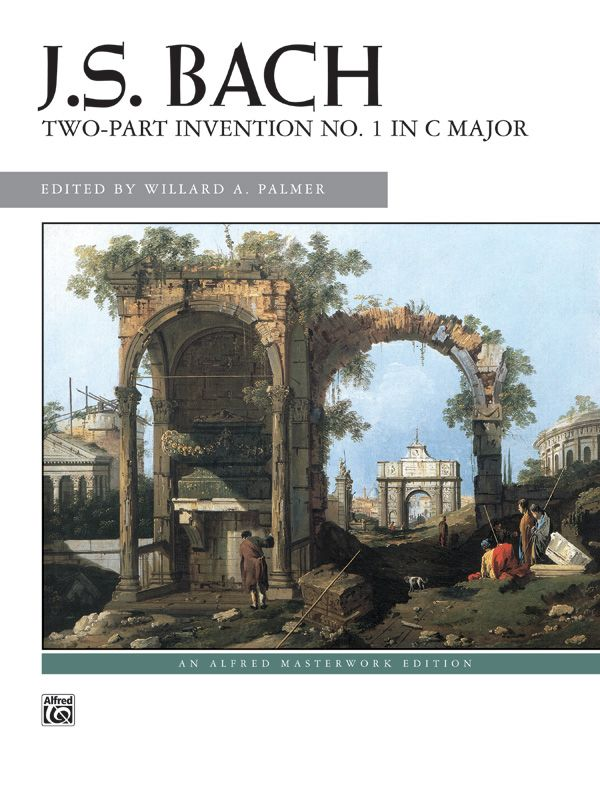 J. S. Bach: 2-part Invention No. 1 In C Major