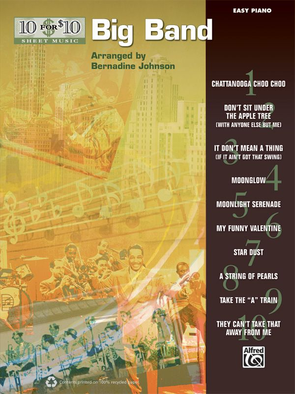 10 For 10 Sheet Music: Big Band
