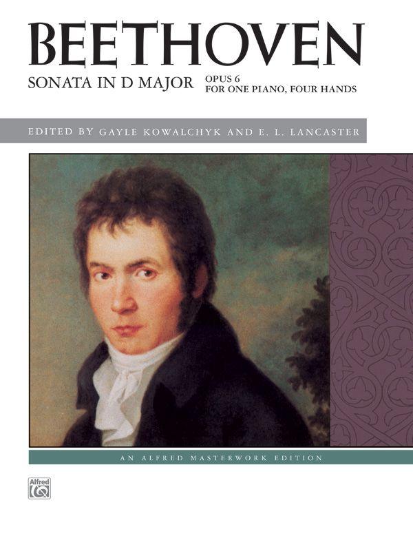 Beethoven: Sonata In D Major, Opus 6