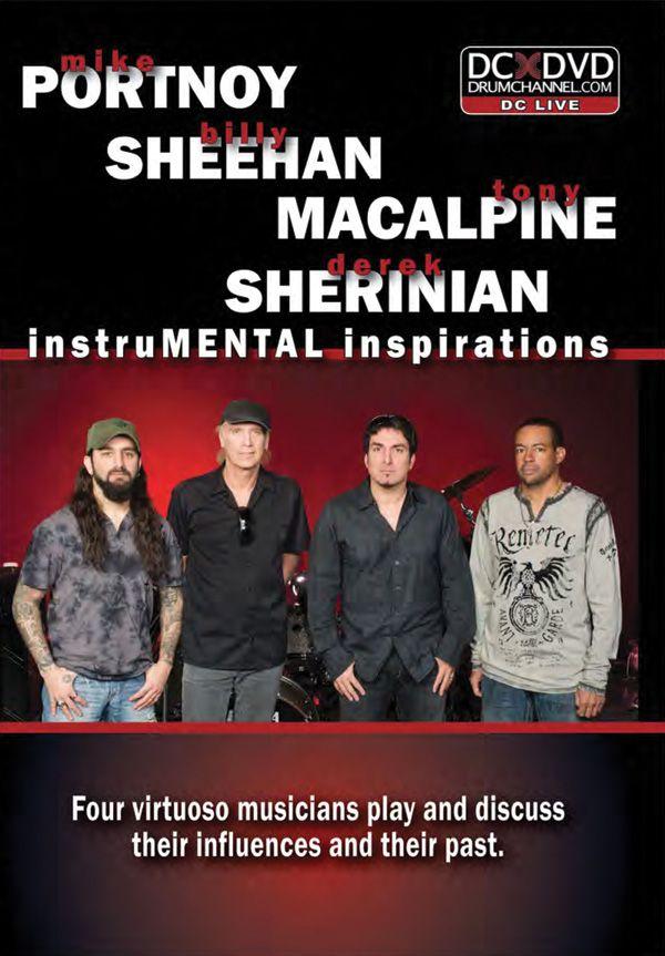 Mike Portnoy, Billy Sheehan, Tony Macalpine & Derek Sherinian: Instrumental Inspirations