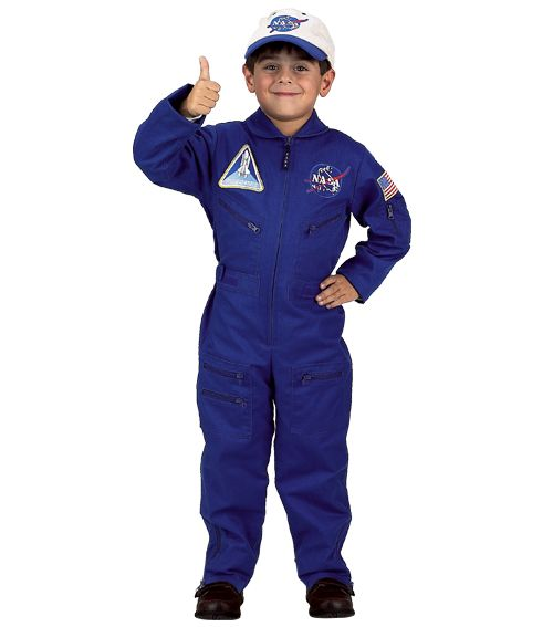 Flight Suit With Embroidered Cap