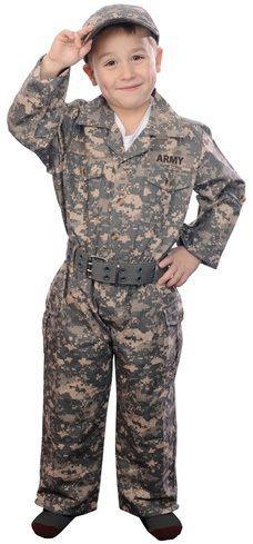 Camouflage Suit W/cap & Belt
