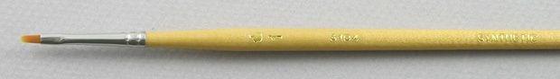 Trinity Brush Synthetic Hair 3103: Filbert Brush