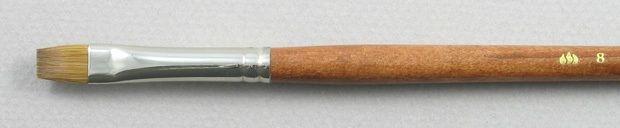 Trinity Brush Pure Red Sable 5105: Bright Brush