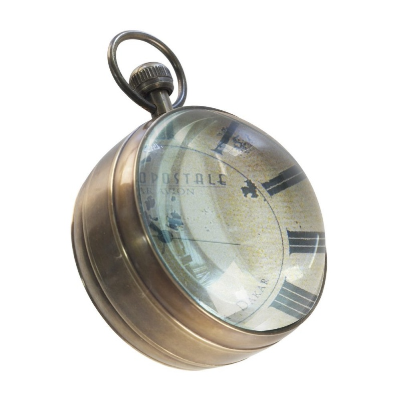 Eye Of Time Clock, Library