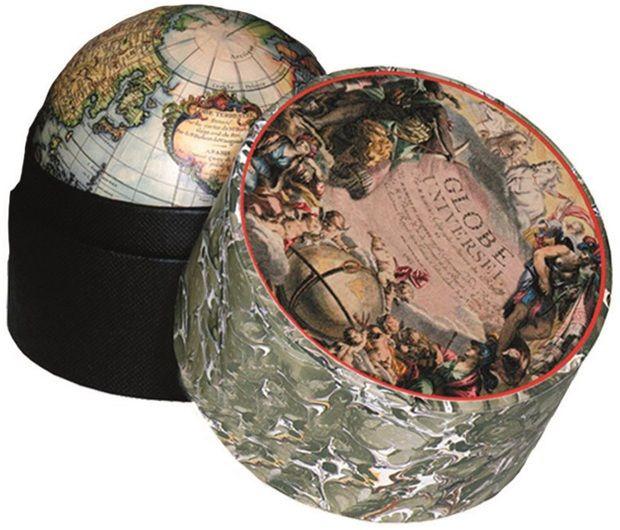 Vaugondy Globe 1745, Small