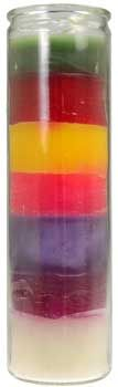 7 Color 7-day Jar Candle