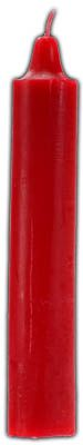 """9"""" Red Pillar Candle"""