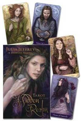 Tarot Of The Hidden Realm Deck & Book By Jeffrey & Moore