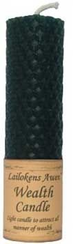 """4 1/4"""" Wealth Lailokens Awen Candle"""