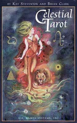 Celestial Tarot Deck By Steventon & Clark