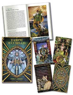 Tarot Illuminati (Deck And Book) By Erik C. Dunne & Kim Huggens