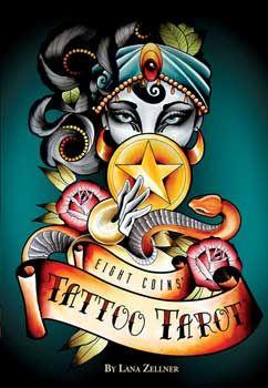 Eight Coins Tattoo Tarot By Lana Zellner