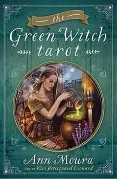 Green Witch Tarot Deck & Book By Ann Moura
