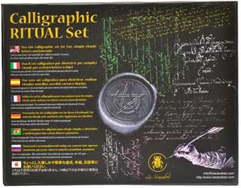 Ritual Calligraphic Set By Lo Scarabeo